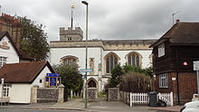 St Mary's Church Hendon exterior.JPG