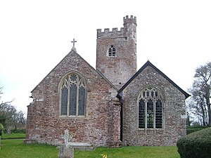 Grade II* listed buildings in East Devon - Image: St Mary's church, Aylesbeare geograph.org.uk 143942