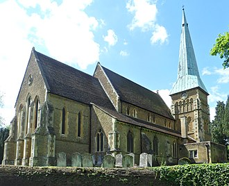 Shalford, Surrey - Image: St Mary the Virgin's Church, The Street, Shalford (May 2014) (3)