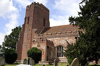 Layer Marney village in the United Kingdom