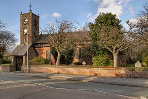 Burtonwood - Image: St Michael's Church, Burtonwood