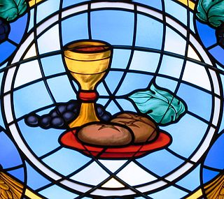 Transubstantiation Catholic doctrine that the body and blood of Jesus are present in Eucharist