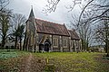 St Peter's Church, Shelley, Essex - from the southwest.jpg
