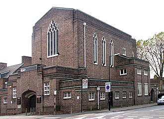 St Saviour's Centre for the Deaf - Another view of the church