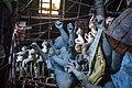 Stack of semifinished idols in Kumortuli, Kolkata 02.jpg