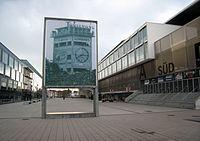 Stade de Suisse, Wankdorf with 1954 World Cup memorial