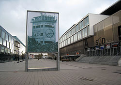 Stade de Suisse, Wankdorf with 1954 World Cup memorial.jpg