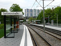 Suttnerstraße in Stuttgart