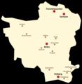 Stadtteile (rot) und Bauerschaften (orange) von Ahlen.png