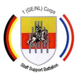 I. German/Dutch Corps - Image: Staff Support Battalion GENL