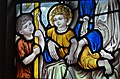 Stained glass window, All Saints' church, Beckley (15548898496).jpg