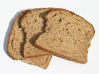 Staling chemical and physical process in bread and other foods that reduces their palatability