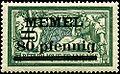 Stamp Memel 1920 80pf on 45c.jpg