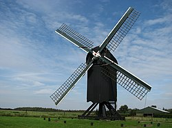 Wind mill in Ter Apel