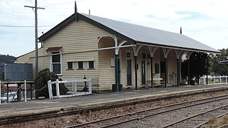 Stanthorpe railway station