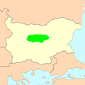 Stara Planina Tzigay areal of distribution.PNG