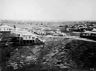 New Farm, Queensland - View of New Farm c.1885