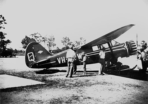 StateLibQld 1 167423 Stinson aircraft, ca. 1940
