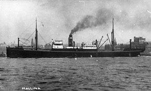 HMAS Mallina - Image: State Lib Qld 1 54680 Mallina (ship)