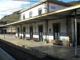 Tua railway station railway station in Portugal