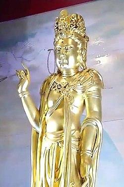 Statue of Guanyin, February 5, 2019 (3) (cropped).jpg