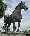 Statue of Percheron Irene.jpg