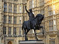 Statue of Richard I, Westminster 01.JPG