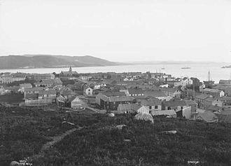 Steinkjer - Steinkjer in 1880