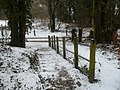 Steps to the path at the entrance to Oare Gunpowder Works Country Park - geograph.org.uk - 1144294.jpg