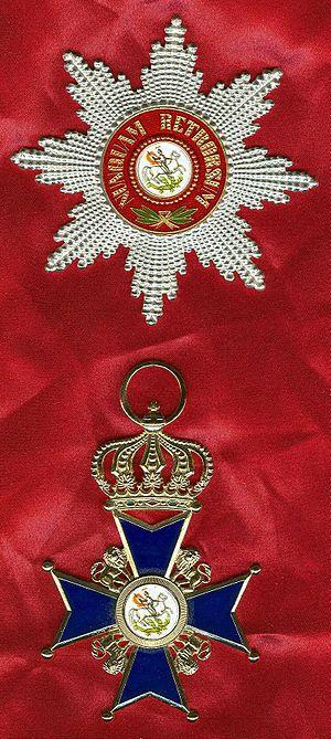 Order of St. George (Hanover) - Image: Ster en kruis van de Sint George Orde van Hannover