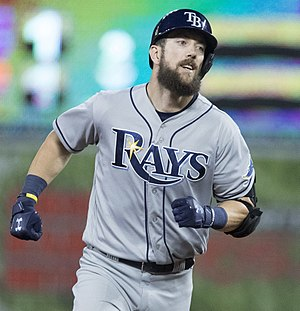 Steven Souza - Souza with the Tampa Bay Rays in 2017