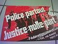 """Sticker """"Police partout justice nulle part"""" de la Fédération anarchiste.jpg"""