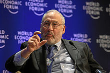 Stiglitz - World Economic Forum Annual Meeting Davos 2009.jpg