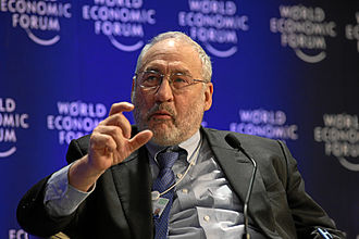 Joseph Stiglitz - Stiglitz at the World Economic Forum annual meeting in Davos, 2009
