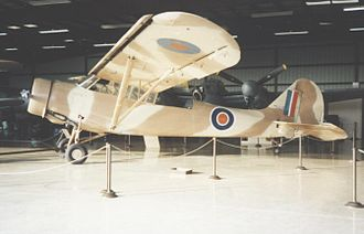 Stinson L-1 Vigilant - Ex-USAAC O-49 Vigilant in the Weeks Museum at Tamiami, Florida, in 1989 wearing RAF-style markings