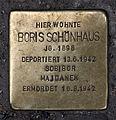 Stolperstein Sophienstr 32 (Mitte) Boris Schönhaus.jpg