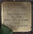 Stolperstein Westfälische Str 59 (Halsee) Steffi Holländer.jpg