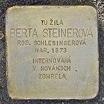 Stolperstein für Berta Steinerova (Prievidza).jpg