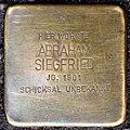 Stolpersteine Köln, Abraham Siegfried (Sülzgürtel 72).jpg