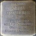 Stolpersteine Köln, Karola Oppenheimer (Severinstrasse 199).jpg
