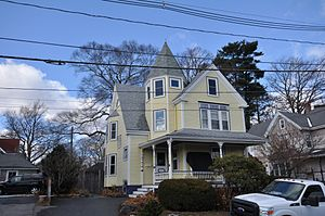 Franklin B. Jenkins House (Chestnut Street, Stoneham, Massachusetts) - Image: Stoneham MA Franklin B Jenkins House 35Chestnut Street