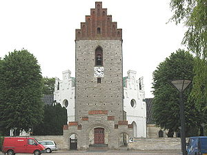 The church of Sankt Katharina