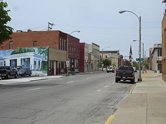 Streator, Illinois - Buildings in downtown Streator.