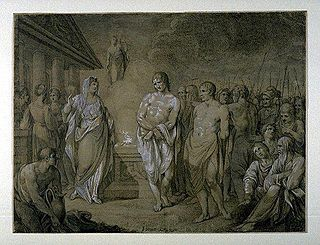 <i>Iphigenia in Tauris</i> ancient Greek tragedy by Euripides