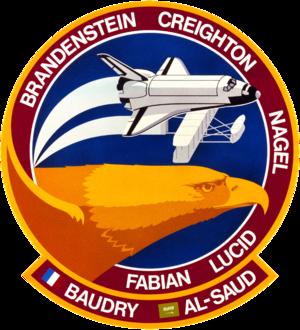 Sultan bin Salman Al Saud - Image: Sts 51 g patch