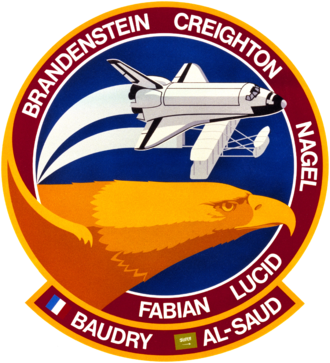 Patrick Baudry - Image: Sts 51 g patch