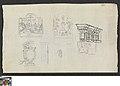 Studies van een retabel en siermotieven, circa 1811 - circa 1842, Groeningemuseum, 0041657000.jpg