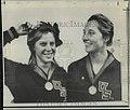 Sue Gossick and Micki King 1967.jpg
