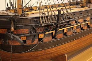Suffren-class ship of the line - Image: Suffren IMG 8653