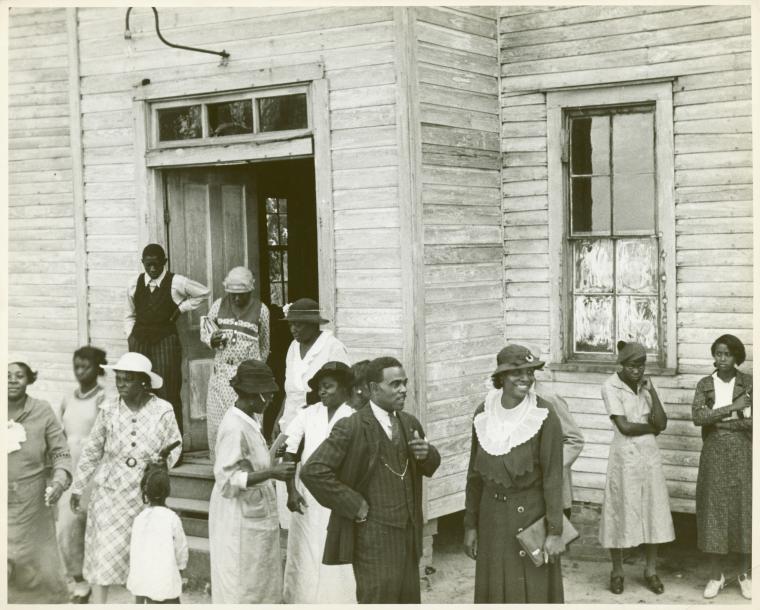 Sunday in Little Rock, Ark., 1935. (3109755087)